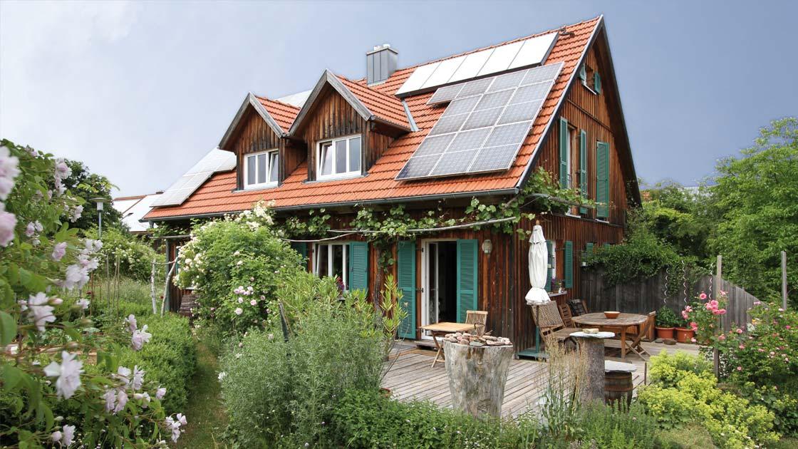 ökologisches Haus details kandlhaus